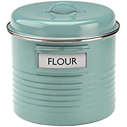 Typhoon Summer House Blue Large Canister, 3.8-Quart Capacity