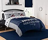 """The Northwest Company NFL New England Patriots """"Monument"""" Full/Queen Comforter #318934799"""