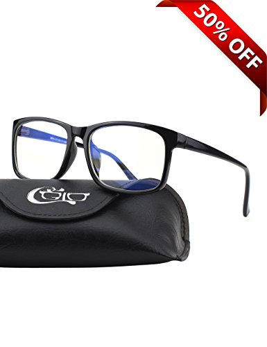 CGID CT12 Blue Light Blocking Glasses, Anti Glare Fatigue Blocking Headaches Eye...