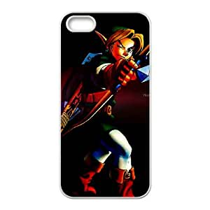 iPhone 4 4s Cell Phone Case White The Legend of Zelda Ocarina of Time 021 Hatye