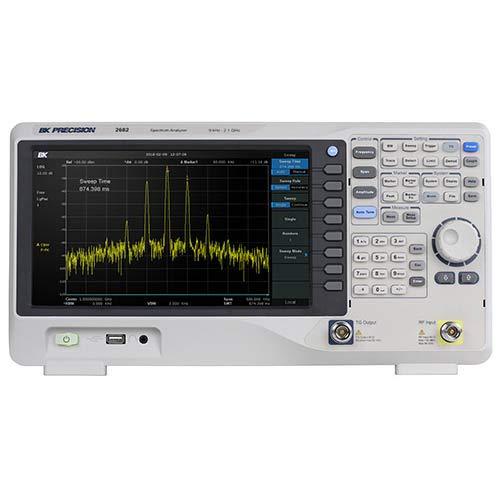 (BK Precision 2682 9 kHz to 2.1 GHz Benchtop Spectrum Analyzer)