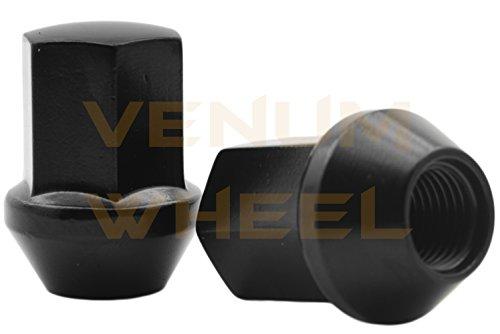 Venum wheel accessories 2012-2019 Ram 1500 Black OEM Factory Style Black Lug Nuts M14x1.5 W/ 22MM Hex Close End 1.5'' Tall 5x5.5 New Model Ram 1500 Made in USA by Venum wheel accessories (Image #2)