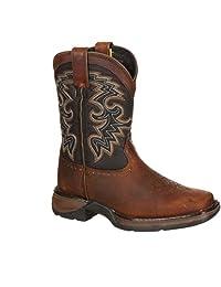 Durango Toddler-Boys' Raindrop Western Boot Square Toe - Dwbt048
