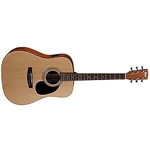 Cort  AD810 Dreadnought Acoustic Guitar, Natural Satin