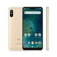 """Xiaomi Mi A2 Lite - Smartphone Dual SIM de 5.84"""" (Octa-Core 2.0 GHz, RAM de 4 GB, memoria de 64 GB, cámara dual de 12+5 MP, Android) color dorado [versión española]"""