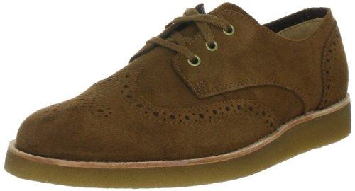 Clarks Desert Legend 203517227 - Zapatos casual de cuero nobuck para hombre Beige (Beige (Tobacco Suede))