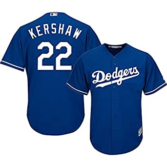 Amazon.com : Clayton Kershaw Los Angeles Dodgers Blue MLB