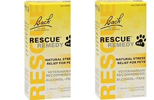 Bach Rescue pet 20ml x 2