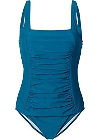 Versandhaus Damen Formbadeanzug, 214051in Blaugrün 44  Amazon.de ... a7ce5f9ab3