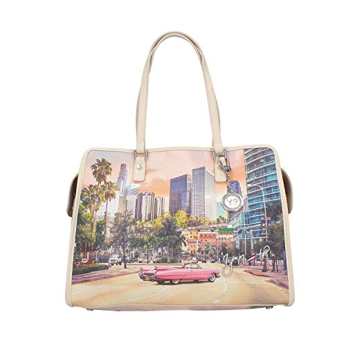 326 Instant Ynot Femme L Multicolore Bag Shopping wgqvz54nv8