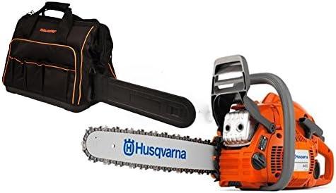 Rotary Husqvarna 450 Chainsaw 50cc Kit with 18 Bar Chain Plus 1 WoodlandPRO Chainsaw Bag