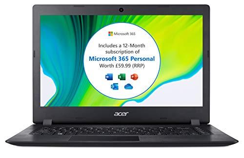 Acer Aspire 1 A114-32 14 inch Laptop (Intel Celeron N4020, 4GB RAM, 64GB eMMC, Full HD Display, Windows 10 in S Mode…