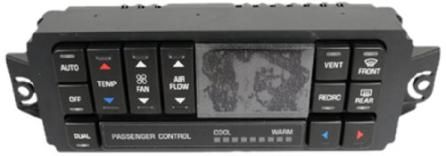 (ACDelco 15-72672 GM Original Equipment Heating and Air Conditioning Control Panel with Rear Window Defogger Switch)
