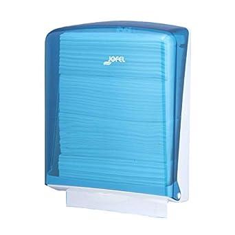 Jofel AH34200 Azur Dispensador de Toallas de Manos, Zig-Zag, Azul: Amazon.es: Industria, empresas y ciencia
