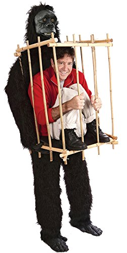 Gorilla & Cage Adult Costume (Gorilla Costume Ideas)