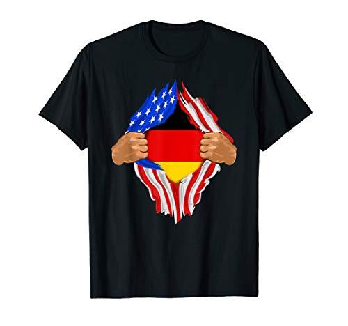 German Blood Inside Me T-Shirt | Germany Flag
