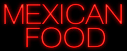 Mexican Food Neon Sign - Made In USA