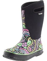 Kids' Classic High Waterproof Insulated Rubber Neoprene Rain Boot Snow
