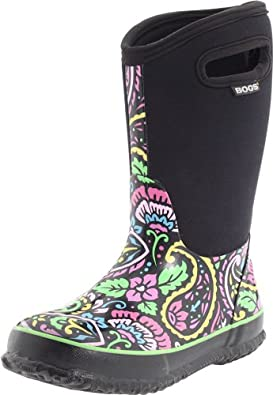Amazon.com   Bogs Classic Tuscany Kids Rubber Insulated