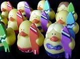 Set of 12 ~ Surfer Rubber Ducks, Health Care Stuffs