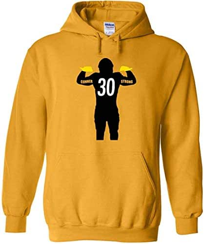 The Tune Guys Gold Pittsburgh Conner Strong Hooded Sweatshirt