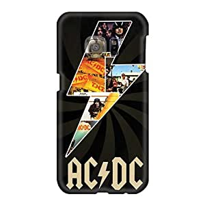 Bumper Hard Cell-phone Cases For Samsung Galaxy S6 (Wci16027bpao) Allow Personal Design Vivid Ac Dc Band Skin