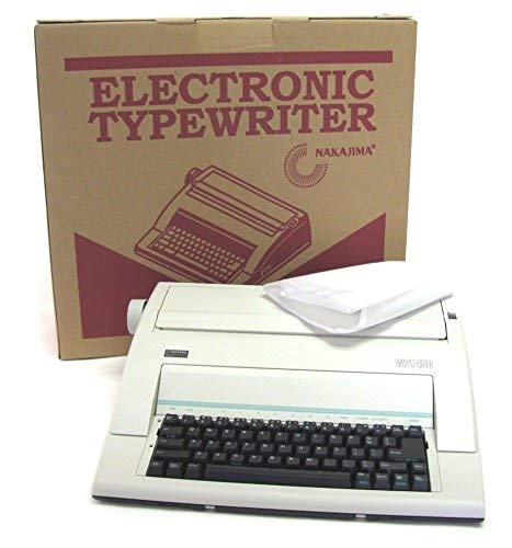 (Nakajima WPT-150 Typewriter with Dust Cover Not Recomended for Office Use)