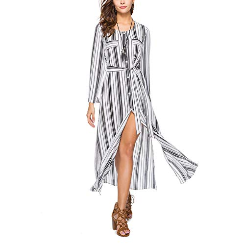 Jahurto Chemise Manches Longues Manches Longues Grey