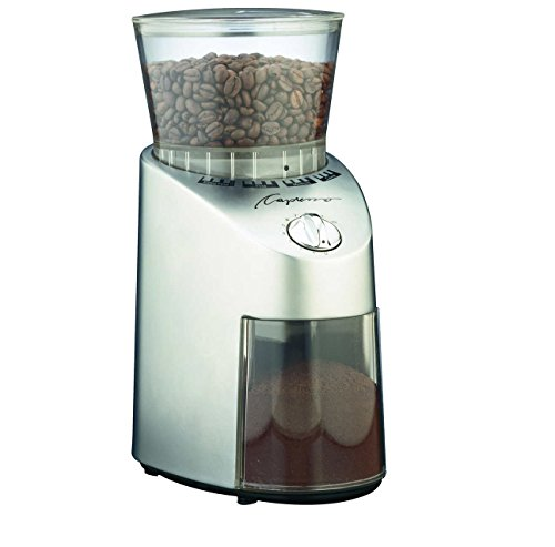 Capresso 565.05 Infinity Conical Burr Grinder, Stainless Steel by Capresso