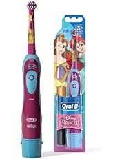 Escova Dental Disney Princess + 2 Pilhas Aa, Oral-B