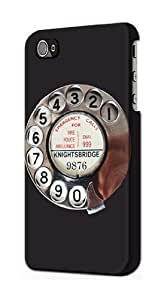 S0059 Retro Rotary Phone Dial On Case Cover for Iphone 5 5s