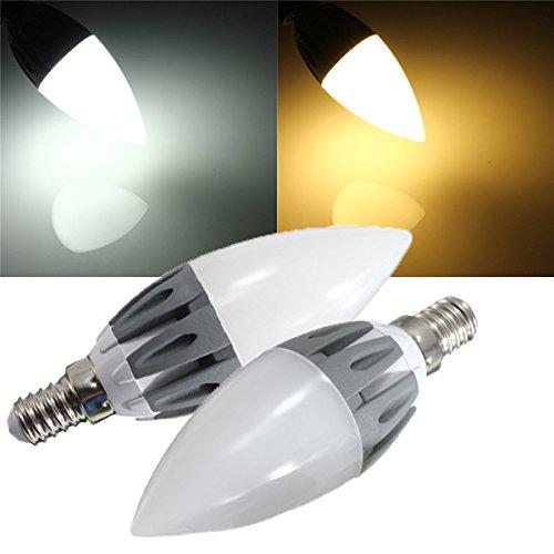 Lights & Lighting - E14 Warm White White Smd2835 15leds 230lm 110-240v - Guided Illumination Light Bulb Conducted Illuminate Lightbulb Light-Emitting Diode Illuminated Incandescent Lamp - 1PCs