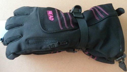 Head Skii Snowboard Snow Gloves - Black - Women's Large