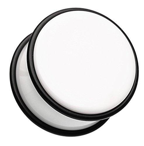 00 Gauge White Acrylic - 5