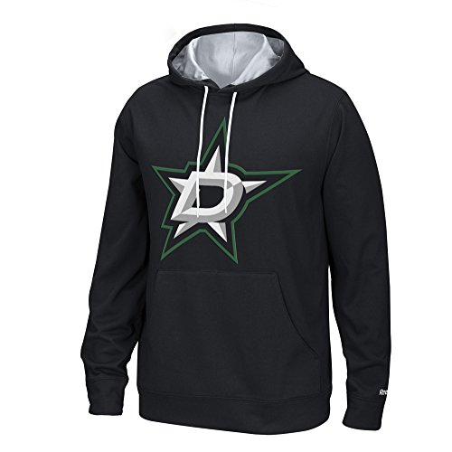 - NHL Dallas Stars Men's Face-Off Playbook Hoodie, Large, Black