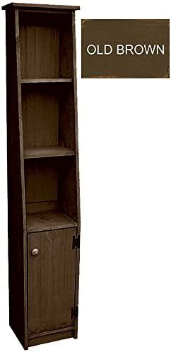 Sawdust City Narrow Hutch Old Brown