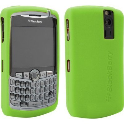 Blackberry 8300 8310 8320 8330 Curve OEM Skin (Lime Green) (Blackberry Curve Protective Case)