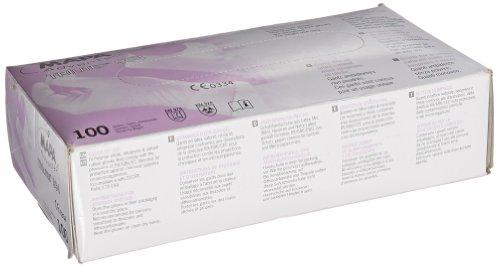 MAPA TRIlites 994 Tri-Polymer Glove, Disposable, 0.006'' Thickness, 10'' Length, Medium, Purple (Box of 100) by MAPA Professional (Image #2)