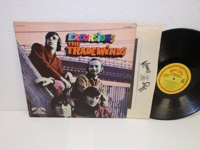 - THE TRADEWINDS Excursions LP Kama Sutra KLPS-8057 orig stereo vinyl record album