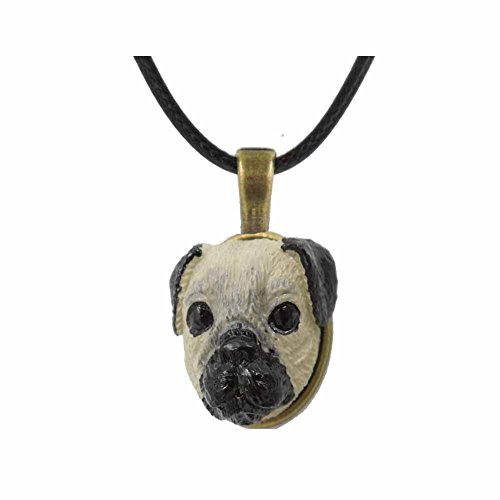 [Forin Accessories Ring Cartoon Cute Manual Sculpture Pet Design Fashion New Trend (Pug)] (Pug Batman Costume)