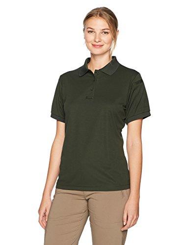 Propper Donna Green Polo Uniform Dark Maniche A Corte AA1drU8qx