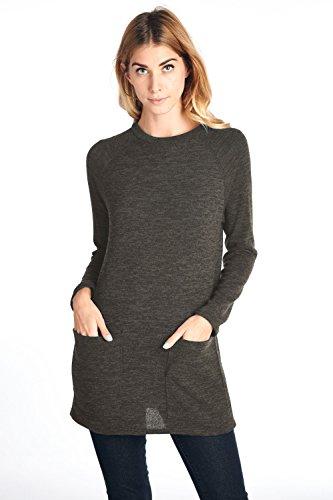 12 Ami Pocket Sleeve Sweater