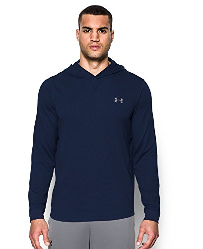 Under Armour Men's Waffle Hoodie, Midnight Navy (410), X-Large