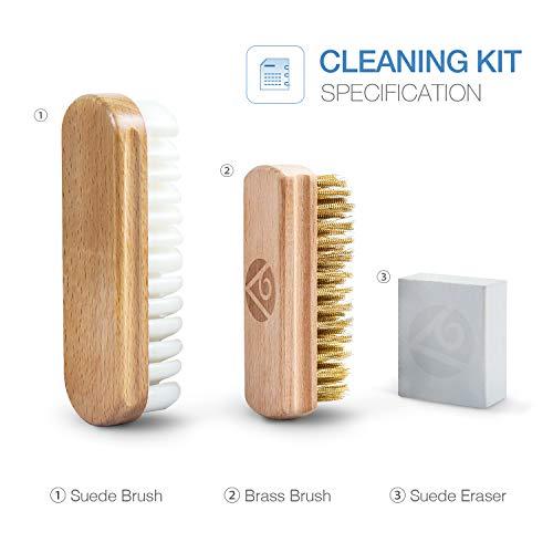 85654816 Premium Suede Brush & Nubuck Cleaner Crepe Brush and Suede Eraser ...