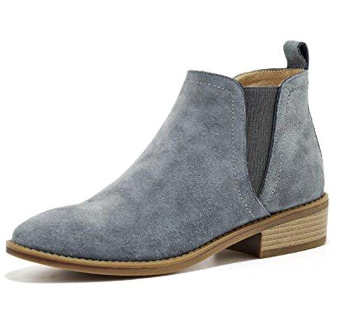 Stivali Autunno Stivali Cuoio Nuove Chelsea Martin Scrub Donne Grayupgradeversion Stivali Boots Cuoio Stivali Scarpe tXwCqnc4xF