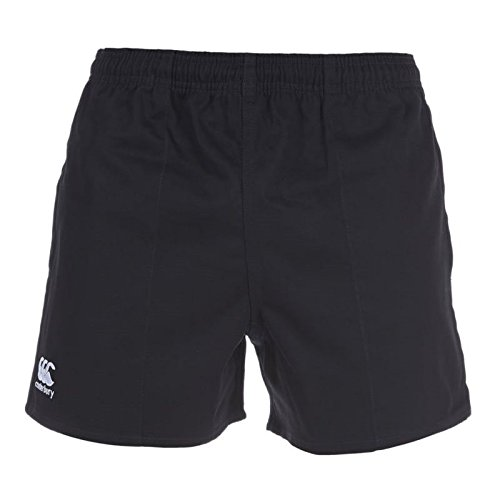 (Canterbury Men's Professional Cotton Shorts - Black, Medium by)