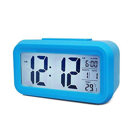 Smart Backlight Kids Alarm Clock (Large Image)