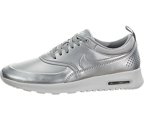 the latest 3f2d1 5ada2 Nike Women s Air Max Thea SE Metallic Silver Running Shoe 8 Women US - Buy  Online in Oman.   Shoes Products in Oman - See Prices, Reviews and Free  Delivery ...