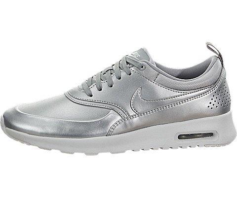 Nike Women's Air Max Thea SE Metallic Silver Running Shoe 6.5 Women...