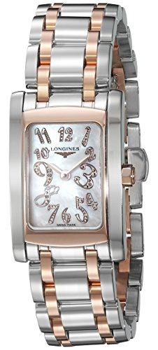 Longines Stainless Steel Wrist Watch (Longines Women's Quartz Stainless Steel Casual Watch, Color:Two Tone (Model:)